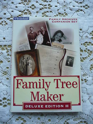 Family Tree Maker Deluxe Edition Iii With Family Archives Set