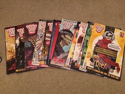 JOB LOT 2000ad COMICS -prog 1354 Onwards *Excellent Condition*