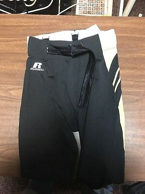 NOS NWT Russell Athletics Size M Football Pants Black Gold