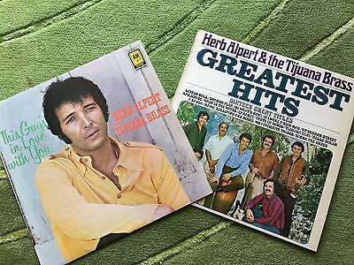 Herb Alpert  2 x LPs - Greatest Hits  & This Guy's In Love With You