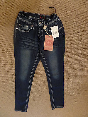 YMI NWT size 8 skinny jeans with bling
