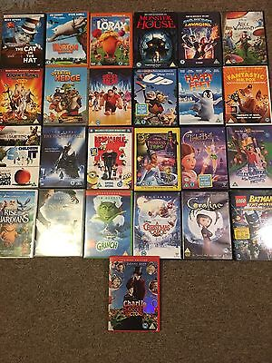 25 X Kids DVDs Mixed Lot, Films For Families