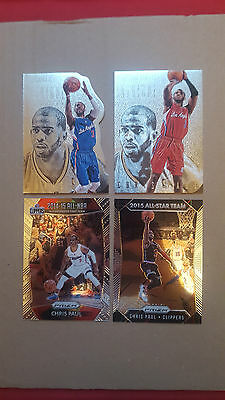 Chris Paul LOT 4  different  RARE inserts CARDS LOT!!!