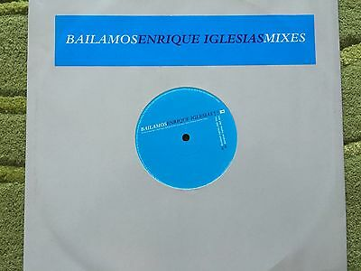 "Enrique Iglesias - 12"" single - Bailamos - 4 mixes - Rare - Promo Copy"