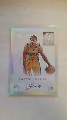 2012-13 Elite Series Brian Roberts ROOKIE 087/249 low numbered rookie insert