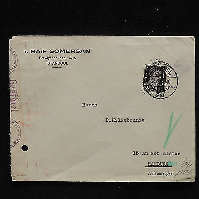 WS-F200 TURKEY - Censored, 1940 To Germany Cover