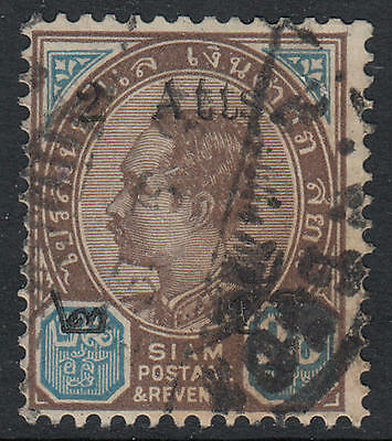 WS-F249 THAILAND - Siam, 1905 Surcharged, 2A/28A Sc.91 Used
