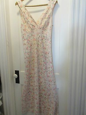 "Vintage  Nightgown  "" Lucy  Larcom  ""  Unused  Small"
