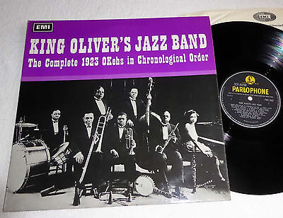 KING OLIVER'S JAZZ BAND The Complete 1923 OKehs In Chronological Order PMC 7032