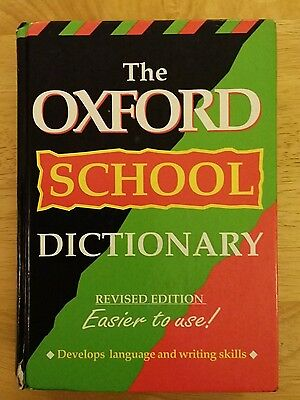 Oxford Scool Dictionary