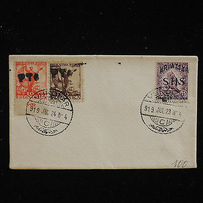 WS-F663 CROATIA - Overprinted, 1919 Vukovar On Not Posted Cover