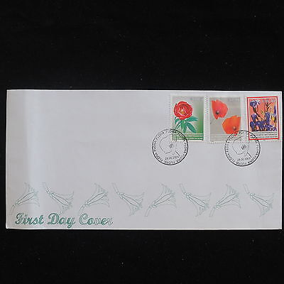 WS-F711 KOSOVO - Fdc, Flowers 2005 Cover
