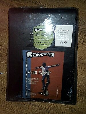 5 x rampage mini ramps 1 new 4 used collection only
