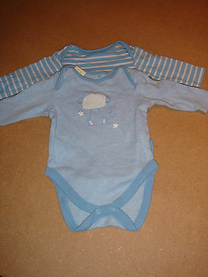 long sleeve next baby vests bodysuits 0-3 months