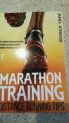 Marathon training & distance running tips book