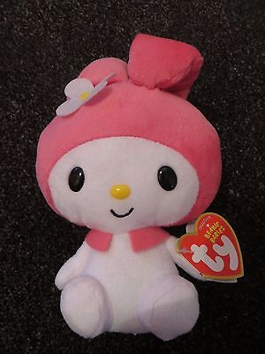 TY My Melody Hello Kitty beanie babies beanie baby, New with tags