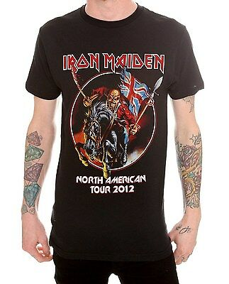 Iron Maiden THE TROOPER MAIDEN ENGLAND T-Shirt NEW 100% Authentic S-4XL