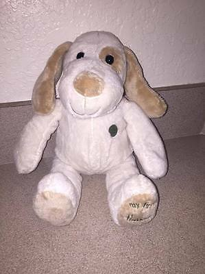 "14"" My first Harrods Puppy Plush , tan and brown soft nwot"