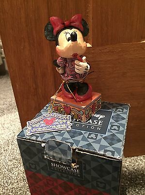 """Walt Disney Minnie Mouse """"sweetheart Diva"""" Collectible Disney Traditions Figure"""