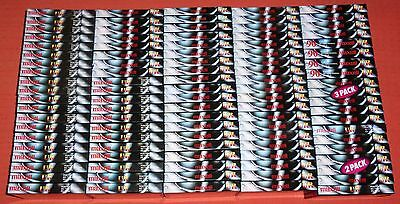 100 Maxell Ur 90 Blank Audio Cassette Tapes - New & Sealed (Collection/job Lot)