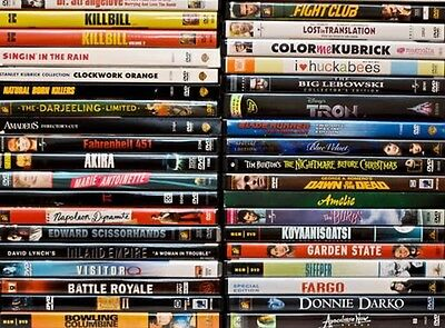 15 movie lot dvd Collection