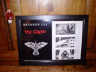 The Crow Production Used Storyboard Rare