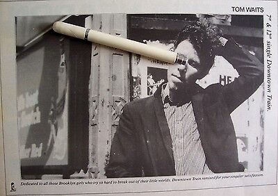 TOM WAITS 1979 - 1985 CLIPPINGS LOT swordfishtrombones