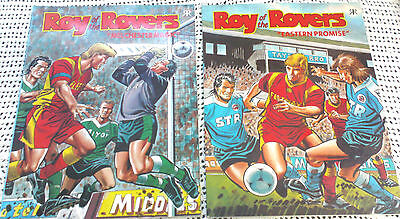 Two ROY of the ROVERS Comic Books 1993
