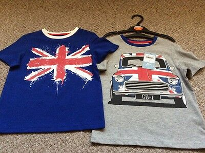 Tu pack of 2 multi summers games t'shirts. Age 3-4 years BNWT