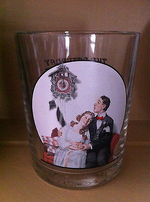 Norman Rockwell's The Saturday Evening Post collectors glass