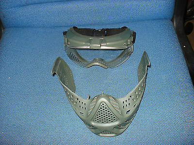 Pro - Goggle  Full Face Mask with LED lights and FAN VENTILATION