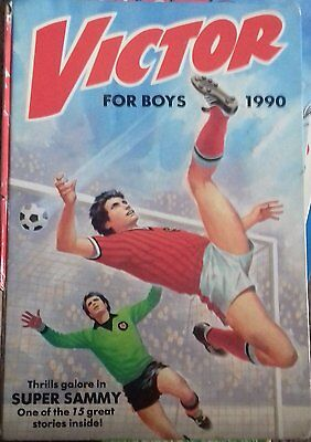 The Victor Book For Boys 1990