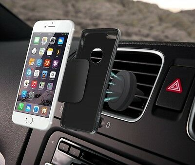Universal Car Phone Air Vent Magnetic Holder for Android and iPhone by Z-TECH