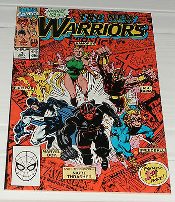 The New Warriors #1 First Appearance Marvel