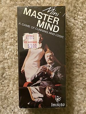 NEW NOS Vintage Mini Mastermind A Game of Cunning and Logic Invicta 1976