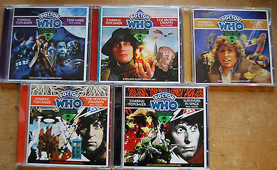 Doctor Who Fourth Doctor CD collection. Serpent Crest