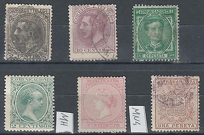WS-G550 SPAIN - Selection, Old Stamps Mh, Mng And Used