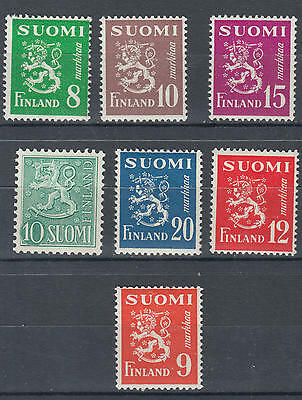 WS-G586 FINLAND - Lot, Fine Selection Of Stamps MLH