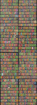 WS-G715 US PRECANCELS - Lot, 1115 Stamps All Different Used