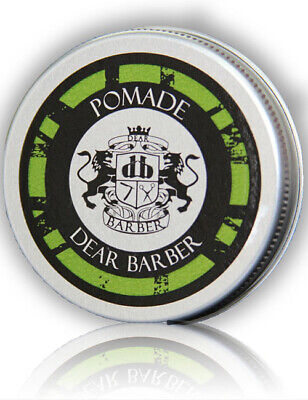 Dear Barber Mens Pomade High Shine Strong Hold Hair Styling Product 20ml Travel