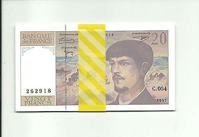 1 Billet France - 20F Debussy - 1997  - C.054 - NEUF