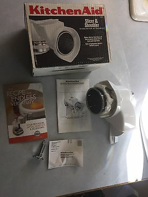 Kitchen Aid Slicer Shredder Attachment Stand Mixer RVSA  New