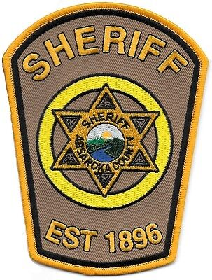 Absaroka County Sheriff's Dept - Pilot Episode Patch - Longmire
