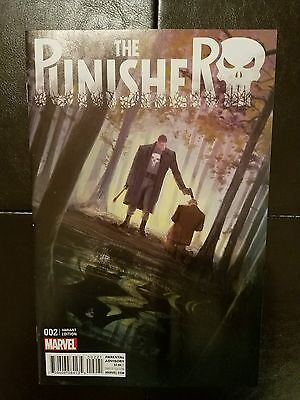 The Punisher 2 Vanessa Del Rey variant Nm free shipping