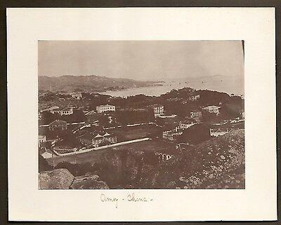China Amoy Photograph Antique Topographical Naval