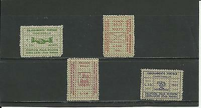 ITALY, 1944-1945: NATIONAL LIBERATION COMMITTEE - n.4 STAMPS, FULL SET.