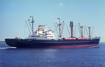 6x4 SIZE PHOTOGRAPH OF THE GERMAN CARGO SHIP  KAMPERDYK