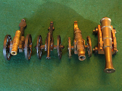 A Set Of Four Miniature Cannons