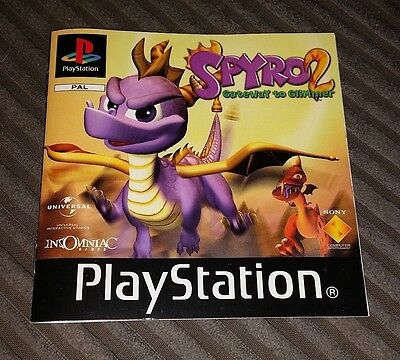 Playstation / PS1 - Spyro 2 - Manual Only
