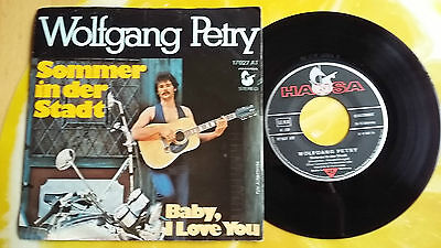 "Wolfgang Petry - Sommer In Der Stadt/baby, I Love You (Andy Kim Cover) 7""single"